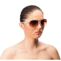 Vernissage Vm10243wht Uv Korumalı Kadın Güneş Gözlüğü