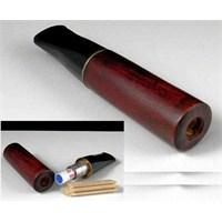 Pipsan 9mm Filtreli Ağaç Sigara Ağızlığı