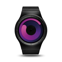 Ziiiro Mercury Black-Purple Unisex Kol Saati