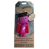 Voodoo Superhero Teacher Anahtarlık
