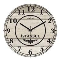 Cadran 140-9 Retro Vintage Bombeli Cam Duvar Saati İstanbul