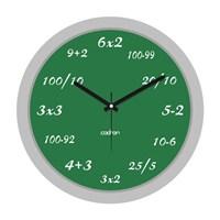 Cadran 200-11 Platinum Duvar Saati Matematik