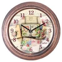Cadran 1108-1 Dekoratif Vintage Duvar Saati Bakır Eyfel