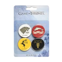 Game Of Thrones Badges Set B Rozet Seti