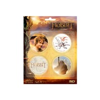 The Hobbit Badges Set A Hobbit Rozet Seti