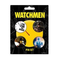 Watchmen The End İs Nigh Pin Set Of 4 Rozet Seti