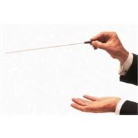 Orkestra Şefi Kartpostal