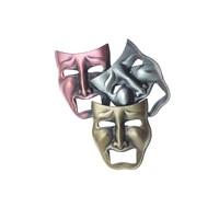 Küçük Trajedi Maske Yaka İğnesi