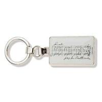 Beethoven Notalı Anahtarlık