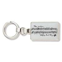 Mozart Notalı Anahtarlık