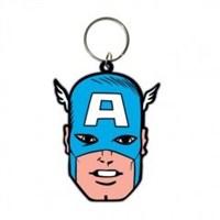 Captain America - Face Anahtarlık