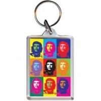 Che Guevara Pop Art PK7028 Akrilik Anahtarlık