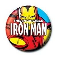 Rozet - Marvel Iron man