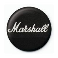 Rozet - Marshall Black Logo