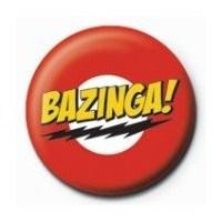 Rozet - The Big Bang Theory Bazinga