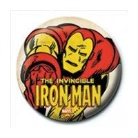 Rozet - Iron Man - Invincible