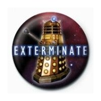 Rozet - Doctor Who - Exterminate Dalek