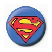 Rozet - Superman Logo