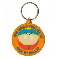 South Park Suck My Balls Anahtarlık