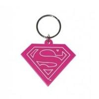 Superman Pink Anahtarlık