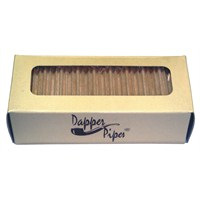 Dapper Pipes 9mm Balsa Ağacı Pipo Filtresi (40'lık Paket)