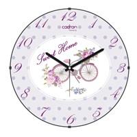 Cadran Luxury Sweet Home Bombeli Cam Duvar Saati Bisiklet-3