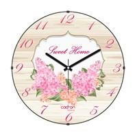 Cadran Luxury Sweet Home Bombeli Cam Duvar Saati Post Card-5