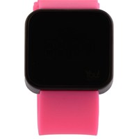 You Watch Matt Black Pink Unisex Kol Saati