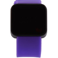 You Watch Matt Black Purple Unisex Kol Saati