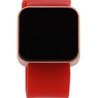 You Watch Matt Rose Red Unisex Kol Saati