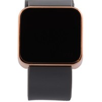 You Watch Shiny Gold Gray Unisex Kol Saati
