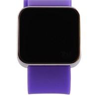 You Watch Shiny Silver Purple Unisex Kol Saati