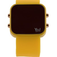 You Watch Yellow Buttons Unisex Kol Saati
