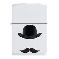 Zippo Ci012900 Bowler Hat 7 Moustache Çakmak