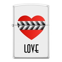 Zippo Heart Clapperboard Çakmak
