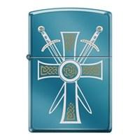 Zippo Celtic Cross With Swords Çakmak