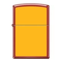 Zippo Ci017683 Yellow On Red Çakmak