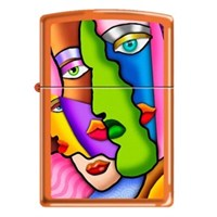 Zippo Ci013664 Abstract Painting Çakmak