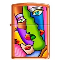 Zippo Ci013664 Abstract Painting Çakmak