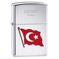 Zippo Turkish Flag Color Çakmak