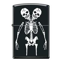 Zippo Ci016894 Siamese Skeletons - 7207 Çakmak