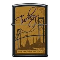 Zippo Ci017451 Bosphorus Bridge Drawing Çakmak