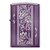 Zippo Vintage Floral Design Çakmak