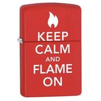 Zippo 233 Keep Calm & Flame On Çakmak