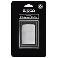 Zippo Reg Brush Finish Chrome Çakmak