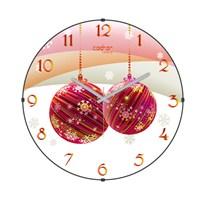 Cadran Luxury Happy Party Bombeli Cam Duvar Saati-13