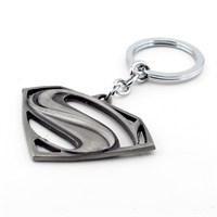 Solfera Superman Antik Eskitme Metal Anahtarlık Kc441