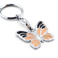 Solfera Kelebek Butterfly Metal Anahtarlık Kc512