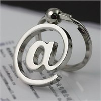 Solfera Mail İnternet Simgesi Metal Anahtarlık Kc443