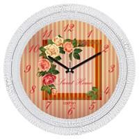 Cadran Luxury Dekoratif Çatlak Desen Duvar Saati-33